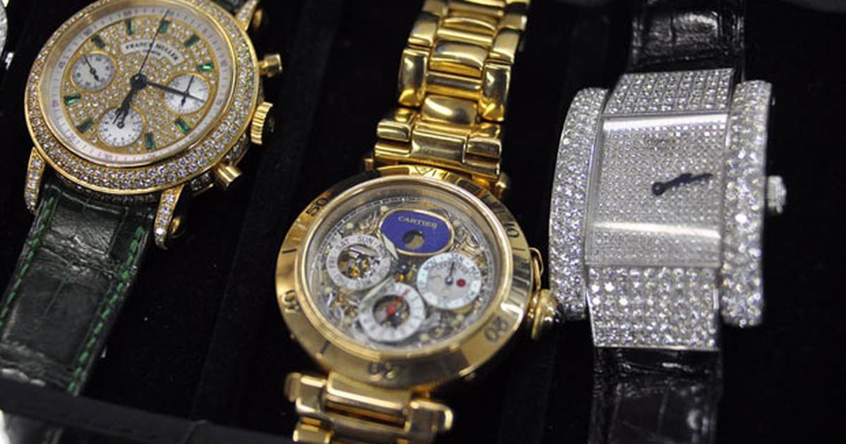 dd41a2fe251 G1 - Coleção do traficante Abadia que vai a leilão tem relógio de R  400  mil - notícias em São Paulo