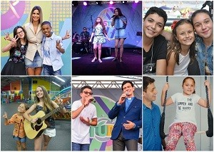 The Voice Kids Estúdio C (Foto: Divulgação/RPC)