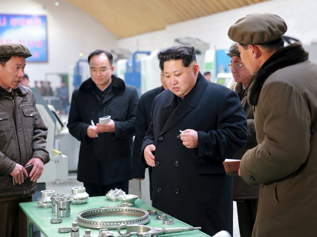 Sanções são resposta aos últimos testes nucleares pelo governo de Kim Jong-un (Foto: KCNA/Reuters)