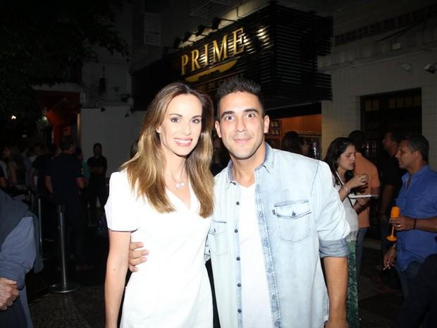 Ana Furtado e André Marques em evento no Rio (Foto: Rodrigo dos Anjos/ Ag. News)