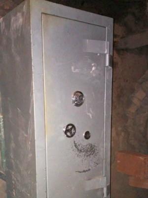 Ladrões não aguentam peso de cofre e desistem de roubo, em RO, diz PM (Foto: Alerta Notícias/Reprodução)