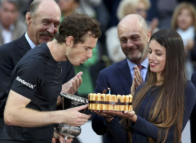 Andy Murray campeão do Masters 1000 de Roma (Foto: Alessandro Bianchi / Reuters)