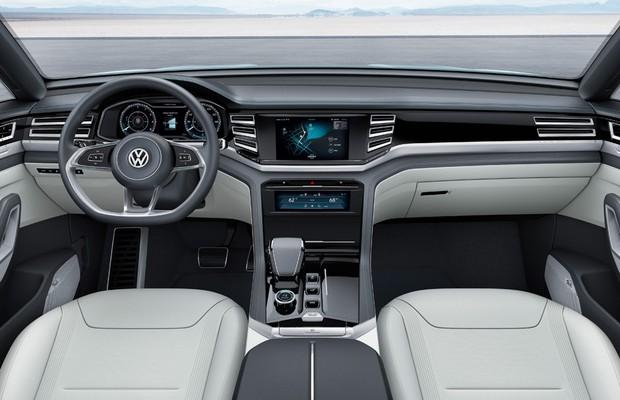 Volkswagen Cross Coupe GTE (Foto: Divulgação)