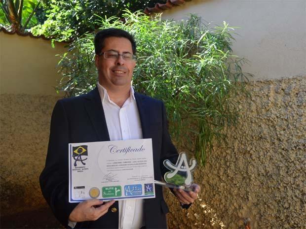 Defesa de pessoas com a síndrome renderam ao autor o prêmio do Movimento do Orgulho Autista (Foto: Leandro Mata/G1)