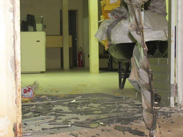 Crime foi durante a madrugada (Foto: Jailson Rodrigues do Nascimento - Blog Adustina ADSA / VC no G1)