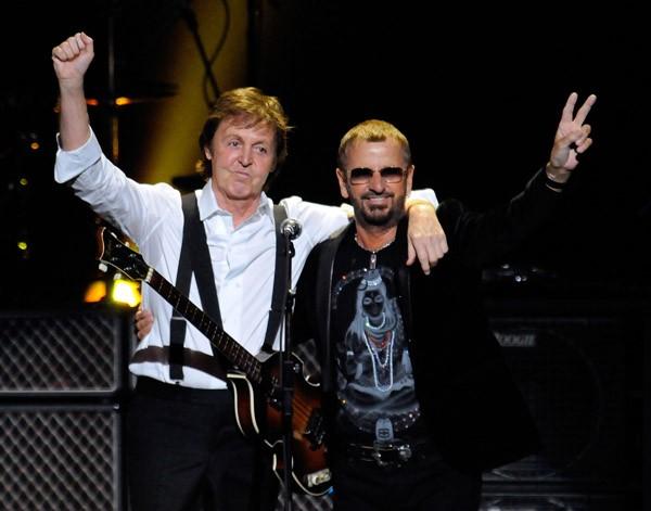 Paul McCartney e Ringo Starr (Foto: Divulgação)