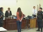 Jovem que matou ex no ato sexual é condenada a 13 anos e fica 'furiosa'