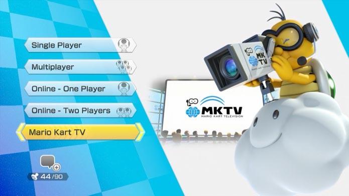 Mario Kart 8: como editar e compartilhar vídeos na Mario Kart TV (Foto: Reprodução/Murilo Molina)