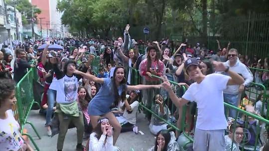 Fã passa três meses na fila para ver show de Justin Bieber em São Paulo