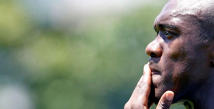 Seedorf treino do Botafogo (Foto: Gustavo Miranda / Agência O Globo)