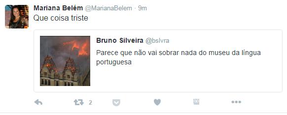 Mariana Belém (Foto: Mariana Belém / Twitter)