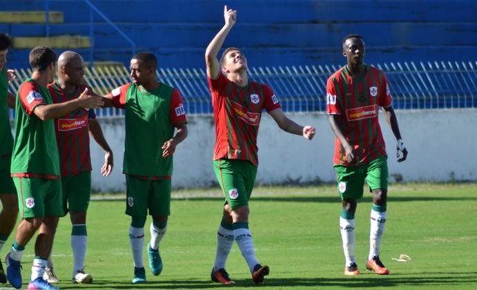 Fernando Portuguesa Santista x São José dos Campos FC (Foto: Filipe Rodrigues/GloboEsporte.com)