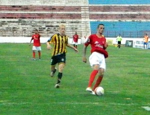 Luan, atacante do América-SP na Copa São Paulo de Futebol Júnior (Foto: Marcos Lavezo/Globoesporte.com)