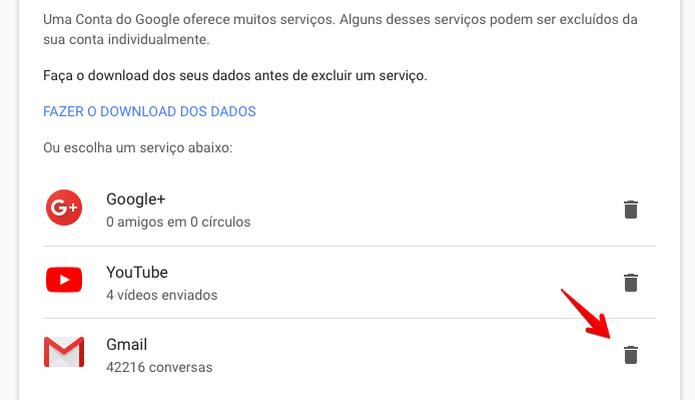 Clique sobre o ícone à direita de Gmail (Foto: Reprodução/Helito Bijora)  (Foto: Clique sobre o ícone à direita de Gmail (Foto: Reprodução/Helito Bijora) )