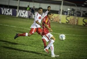 Sergipe vence Náutico na Copa do Brasil (Foto: Filipe Araújo/FSF)