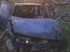 Motorista morre e três passageiros ficam feridos em acidente na BR-050