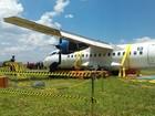 Veja fotos da simulação de resgate de avião com o recovery kit em São Carlos, SP