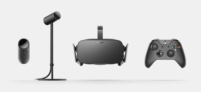 Pacote do Oculus Rift traz controle do Xbox One  (Foto: Divulgação / Oculus VR)