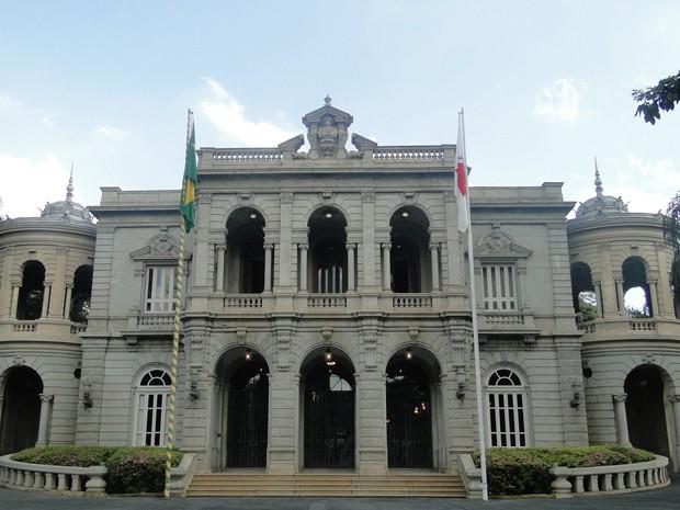 Palácio da Liberdade, sede simbólica do governo de Minas Gerais (Foto: Sara Antunes/G1)