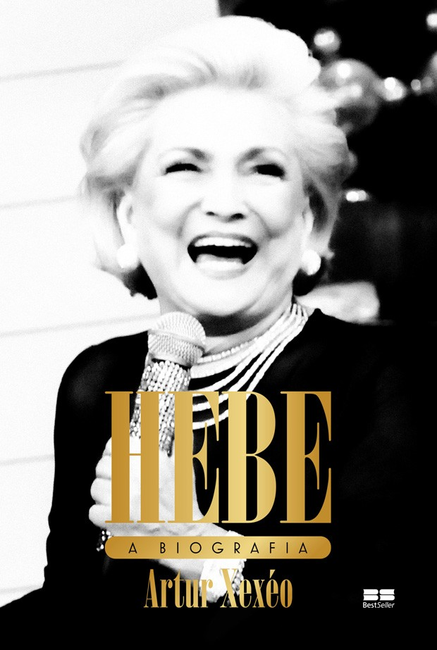 Capa da biografia de Hebe Camargo (Foto: Divulgação)
