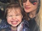 Mirella Santos posta foto com a filha e a menina rouba a cena com gracinha