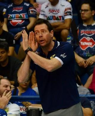 Cezar Douglas Vôlei Taubaté (Foto: Danilo Sardinha/GloboEsporte.com)