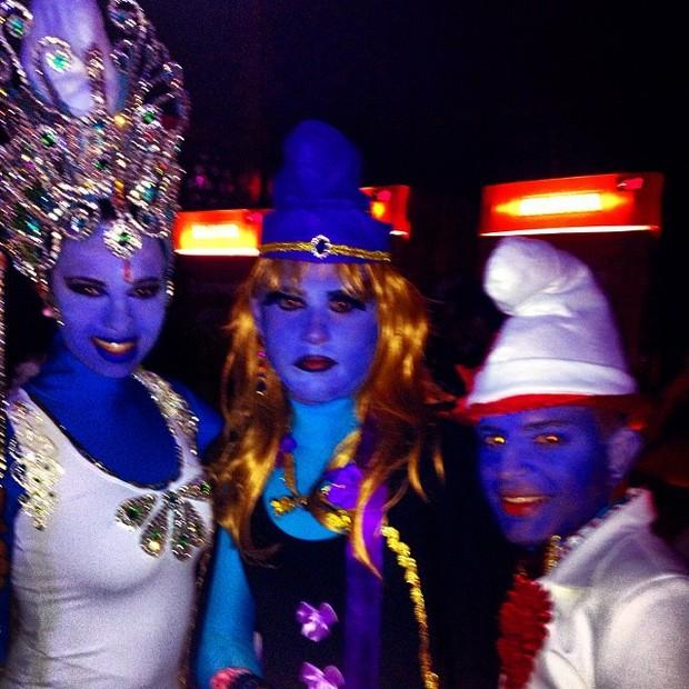 Ariadna em festa à fantasia (Foto: Reprodução/Instagram)