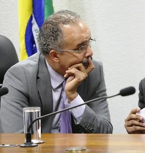 MP do Futebol apresentação relatório Vicente Cândido (Foto: Edilson Rodrigues / Agência Senado)