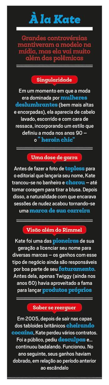 Empresa;Moda;Kate Moss (Foto: Reprodução)