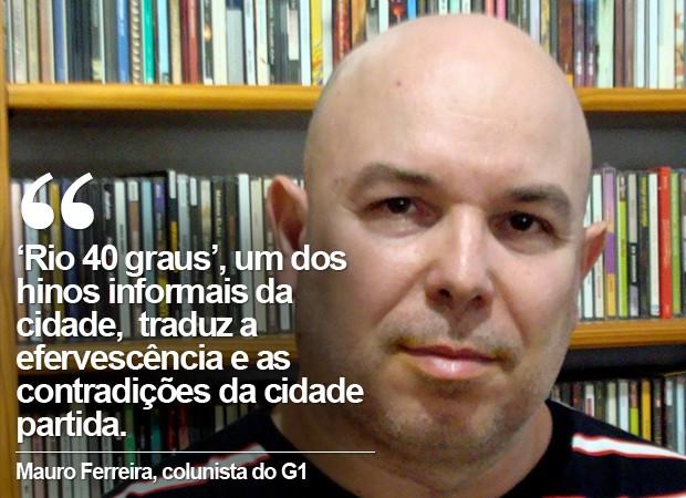 Cartela Mauro Ferreira (Foto: G1)