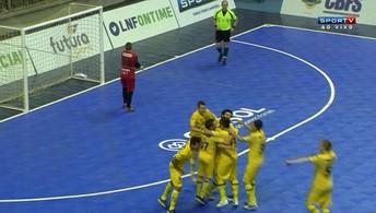 Os gols de Jaraguá 1 (3) x (2) 1 Carlos Barbosa  pela Supercopa dos Campeões de futsal