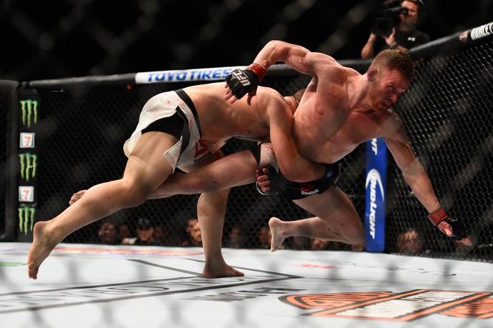 Drew Dober, Scott Holtzman, UFC 195, MMA (Foto: Getty Images)