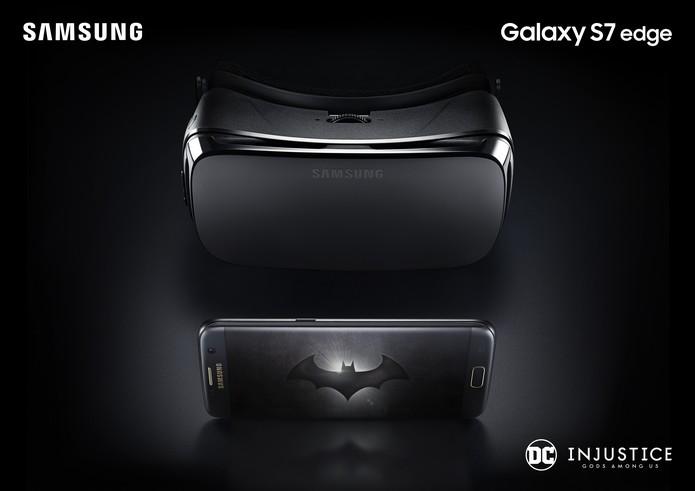 Celular vem acompanhado de um Gear VR (Foto: Divulgação/Samsung)