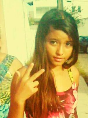 Maria Hister Rocha de Oliveira, de 12 anos, desapareceu na Cidade da Esperança, na Zona Oeste de Natal (Foto: Arquivo da família)