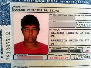 Marcos Vinícius da Silva morreu após uma festa à fantasia em Jaguariúna (Foto: Edlaine Garcia/EPTV)