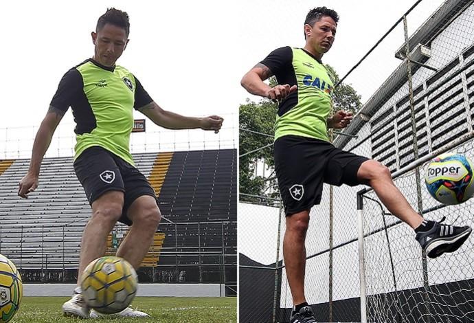 Canales, Botafogo (Foto: Info Esporte)