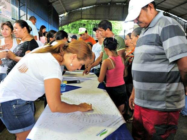Ação de regularização fundiária deve beneficiar cerca de 3 mil pessoas (Foto: Nonato Duarte/Agecom)