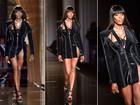 Veja os looks do desfile de alta-costura da Versace, que teve Naomi Campbell na passarela