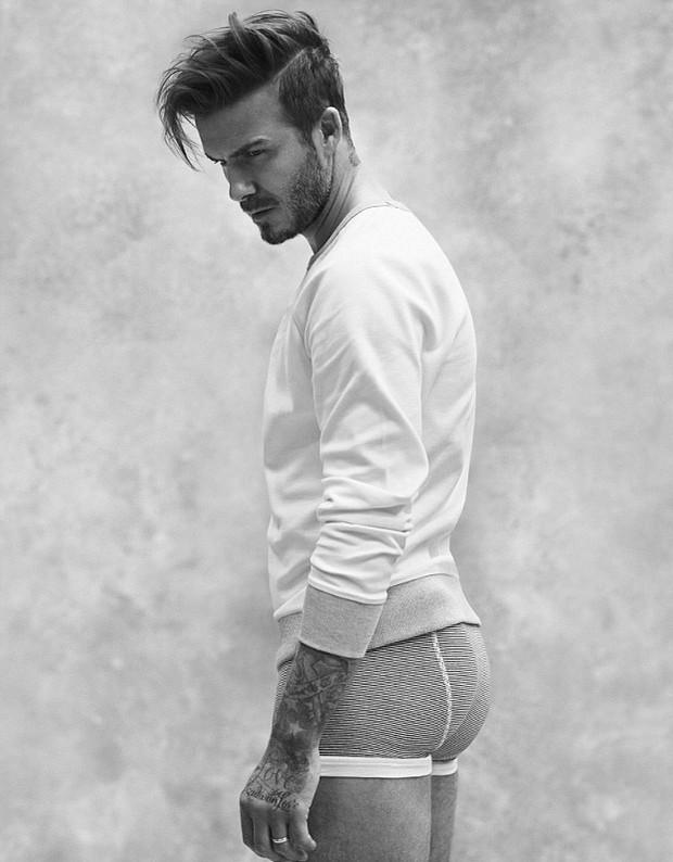 David Beckham posa para a campanha da H&M (Foto: Divulgação)