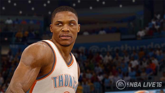 NBA Live 16 vem para competir com NBA2K (Foto: Divulgação/EA Sports)