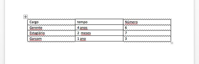 Borda aplicada na tabela (Foto: Reprodução/André Sugai)