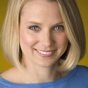 Marissa Mayer, em foto divulgada no Google Plus (Foto: Reprodução)