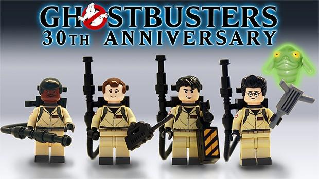 'Os caça-fantasmas' irão ganhar uma versão em Lego ainda em 2014 (Foto: Divulgação/Lego Cuusoo)