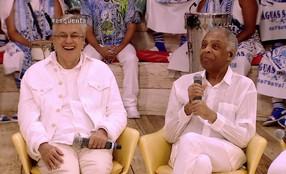 Regina Casé conversa com Caetano Veloso e Gilberto Gil