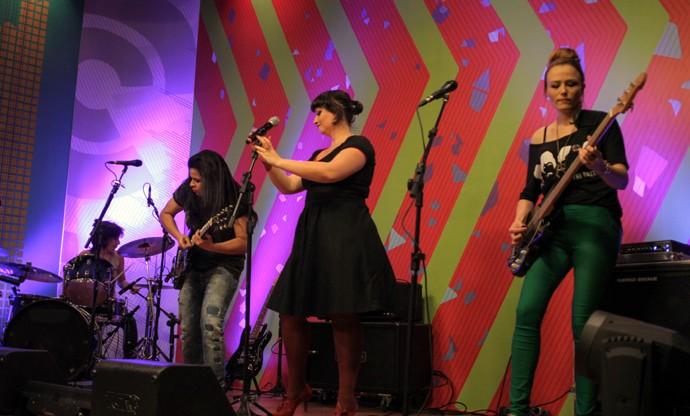 Punkake Estúdio C (Foto: Bruno Vaz/ RPC)