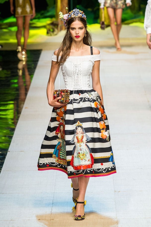 Dolce & Gabbana Primavera/Verão 2017 (Foto: Imaxtree)
