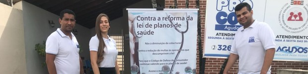 Procon adere a movimento contra lei que altera planos de saúde (editar título)