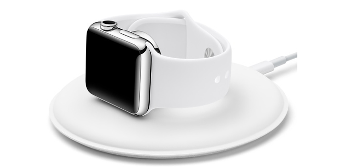 A dock permite usar o Apple Watch como despertador, aproveitando recurso do watchOS 2. (Foto: Reprodução/Apple)