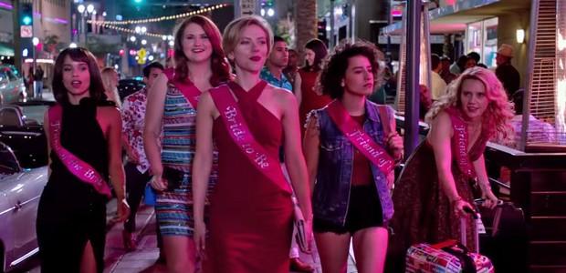 Scarlett Johansson em trailer de 'A Noite é Delas' (Foto: reprodução )