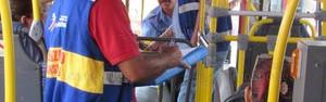 Secretaria de Transportes mantém fiscalização nos ônibus (Marcelo Figueiredo/Ascom Araruama)
